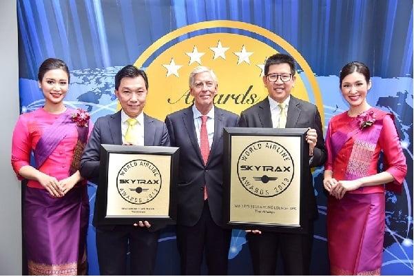 การบินไทยได้รับรางวัลอันดับ 1