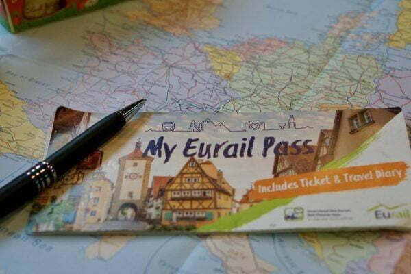 ตั๋วรถไฟยุโรป Eurail Pass