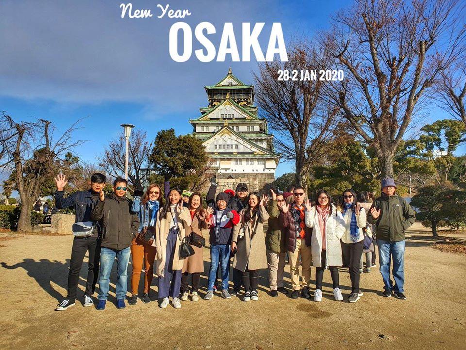 รีวิวลูกค้า กรุ๊ปทัวร์ญี่ปุ่น โอซาก้า ปีใหม่ 28-2 ม.ค.63